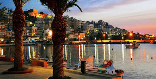 Sitia is a lovely Greek town in the east of the island, the esplanade is perfect for strolling in the evenings