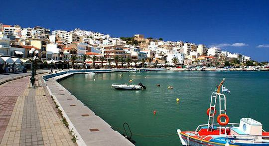 Sitia is a busy modern town on the bay
