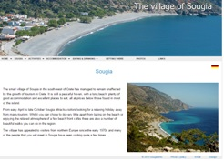 The remote seaside village of Sougia