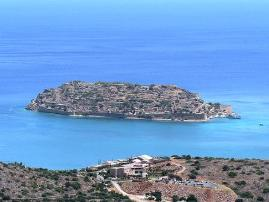 Spinalonga Island in Eastern Crete