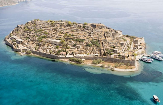 Spinalonga Island, opposite Elounda