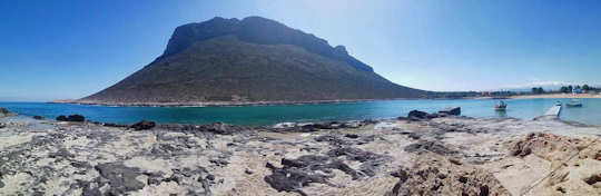 You can find some wide open space at Stavros Beach in Crete