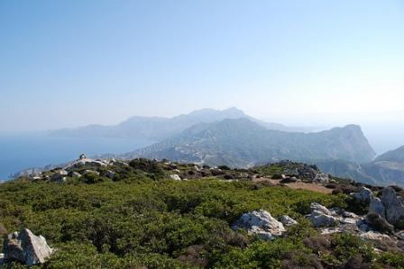 South of the island looking north (Image by Sotiris Farmadakis)