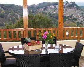 Villa Stratos, Kaloniktis - view from the balcony