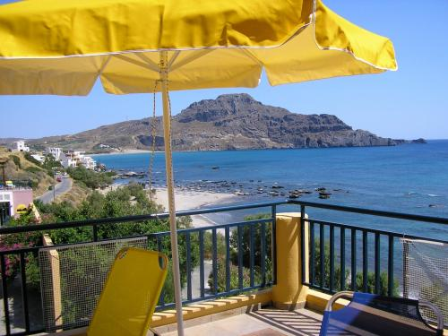Just walking distance from the beach - this is Thalassa House in Plakias