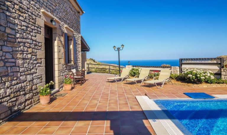 Platanos Villa in Crete is near Falasarna Beach
