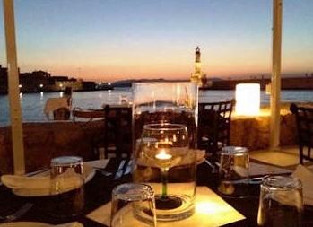 Nama Café Bar Restaurant - view across the harbour