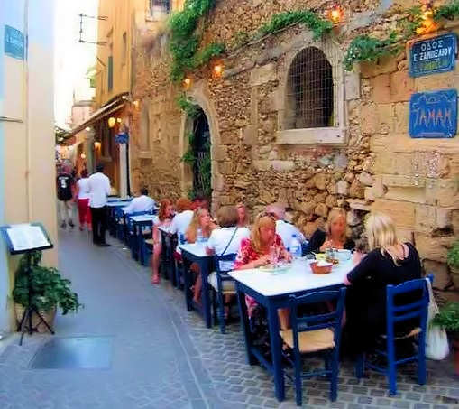Tamam Taverna in Chania Old Town
