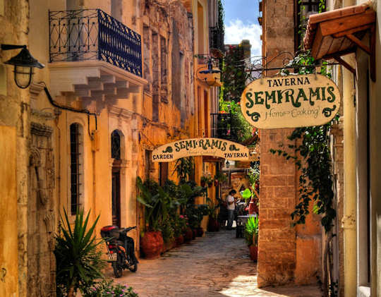 The narrow lane ways of the old town are worth exploring (image by Romtomtom)