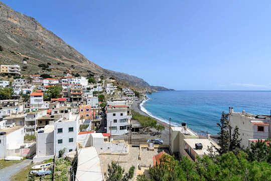 Tris Ekklisies Village, Crete