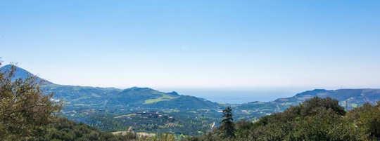 Taverna views over Plakias Bay on the south coast