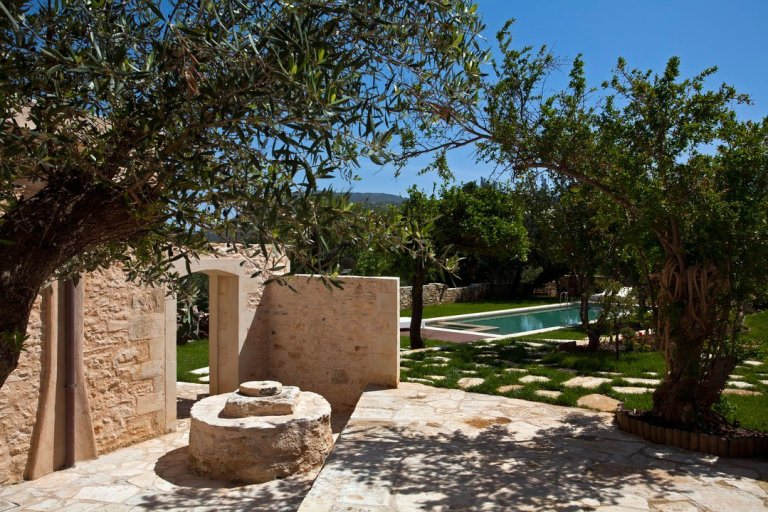 A beautiful example of a restored traditional home in Crete