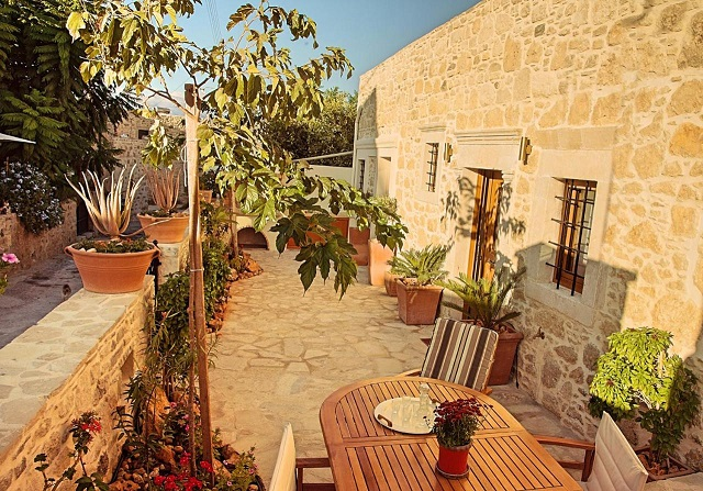 Villa Kapela near Matala in southern Crete