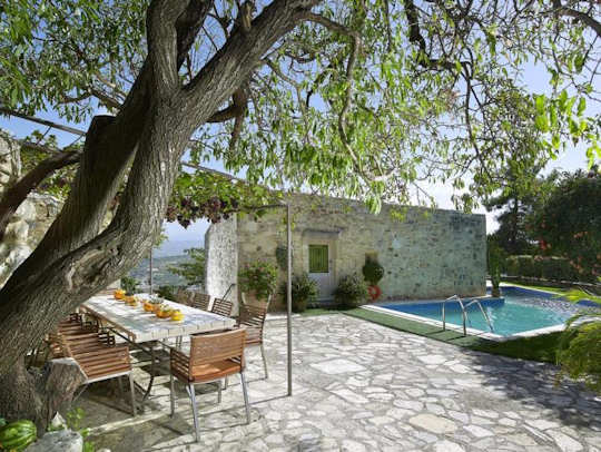 Villa Kerasia makes a great base for exploring central Crete with a vehicle