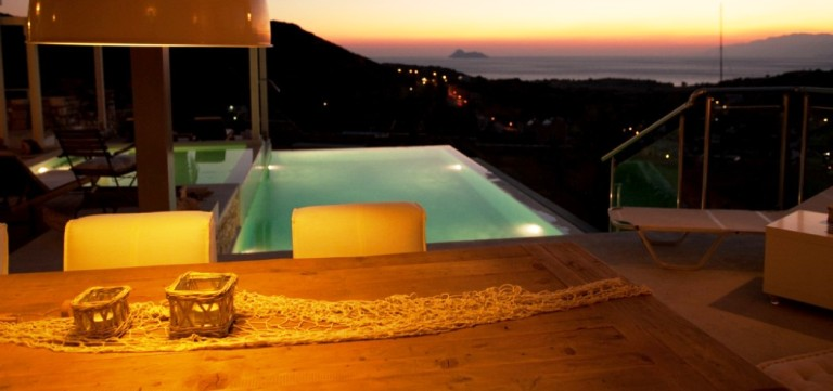 Sea View Villa with expansive elevated vistas over the Libyan Sea
