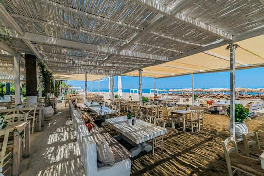 Rethymnon Beach restaurant