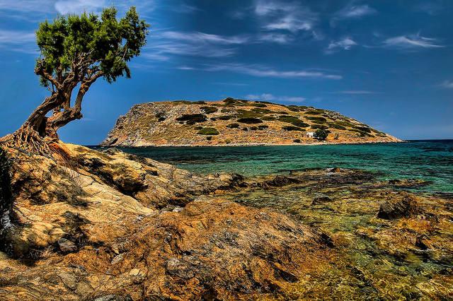 Mochlos Island off Crete