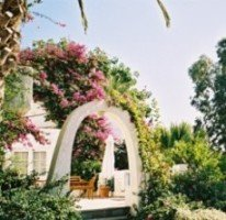 One of the garden studios of Out of the Blue Resort