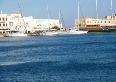 Ermoupolis Harbour - leisure craft