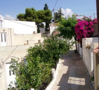 Quiet streets and bougainvillea