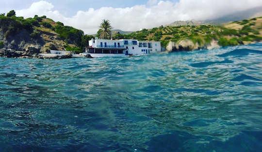 Agia Fotini Beach in south Rethymnon, Crete