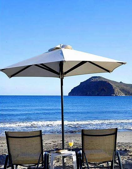 Romantic Beach Umbrella for two