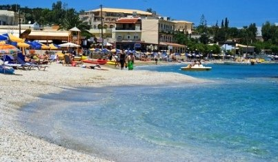 Agia Pelagia Beach - such clear waters (Image by Micael Goth)