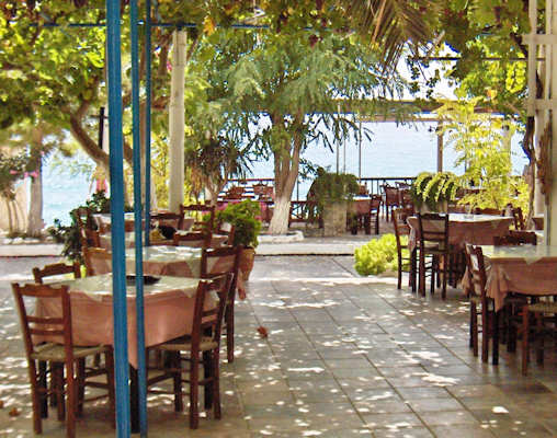 Relax at the Gigilos Hotel after your long walk, stay in Agia Roumeli after the ferries leave and enjoy the peace and quiet