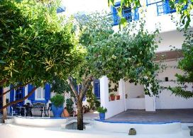 In Kritsa village to the east you will find a warm welcome at Agyro B&B