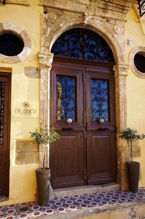 The Alcanea Boutique Hotel sits on the limani in Chania Old Town
