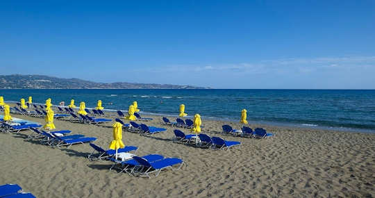 Ammoudara Beach is 6 km from Heraklion town