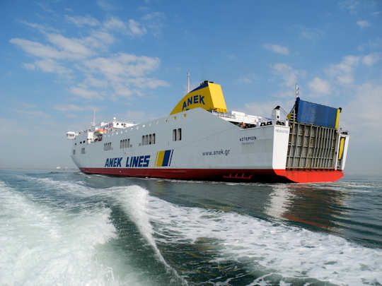 Anek Ferry Pireaus to Crete (image by Mark Latter)