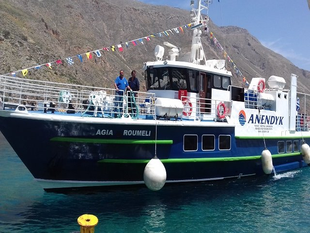 Anendyk Ferries Crete