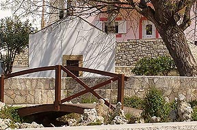 Arhanes Village in the countryside near Knossos