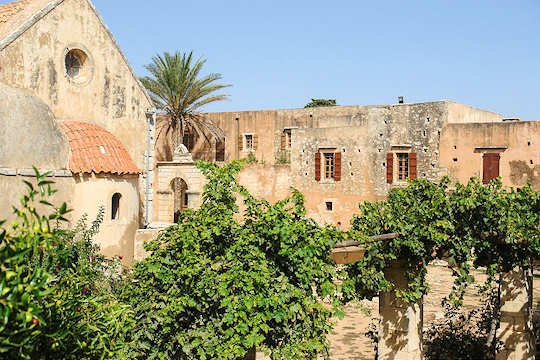 Arkadi Monastery is 23 km from Rethymnon Town