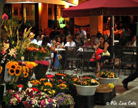 Ermou Street Cafe Scene - Lucafe