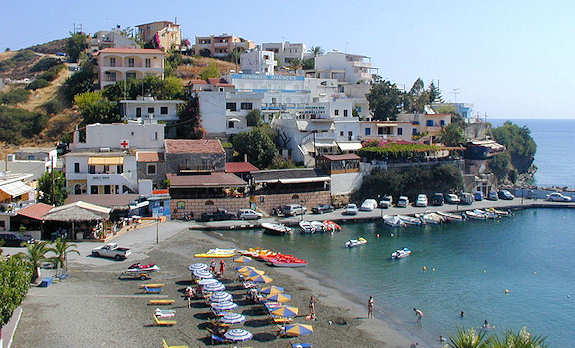 At Bali in Crete there are 5 pretty coves to choose from