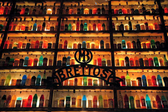 Brettos Bar in the historic Plaka quarter is full of colour and atmosphere