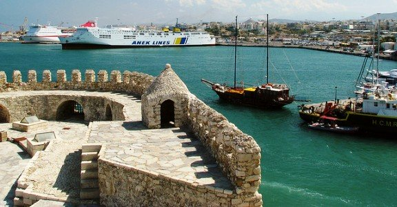 Old Port and New, Heraklion