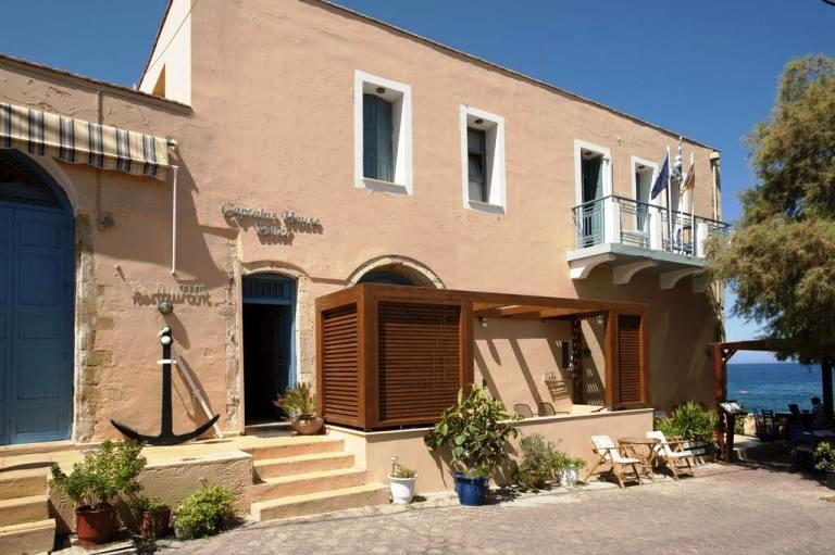 Captain's House in Panormos Village, Rethymnon Crete