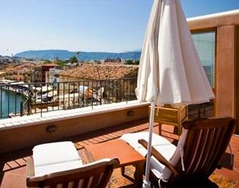 View from Casa Delfino in Chania, Crete