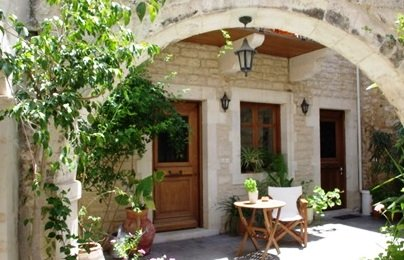 Casa Moazzo in the Old Town of Rethymnon is a restored mansion