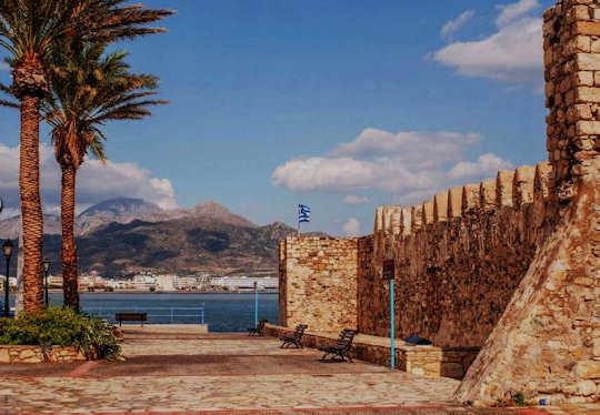 Castle of Kales in Ierapetra, Crete