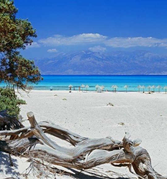 A cruise to Chrissi Island from Ierapetra takes 1 hour