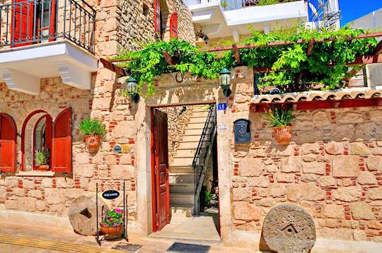 The Cretan Villa Hotel is a restored home in Ierapetra
