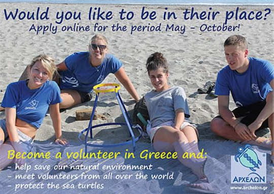 Turtle Volunteers in Crete