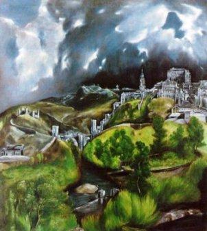 View of Toledo, Domenikos Theotokopoulos 1596-1600