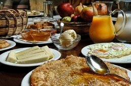 Eleonas Traditional Resort - breakfast spread