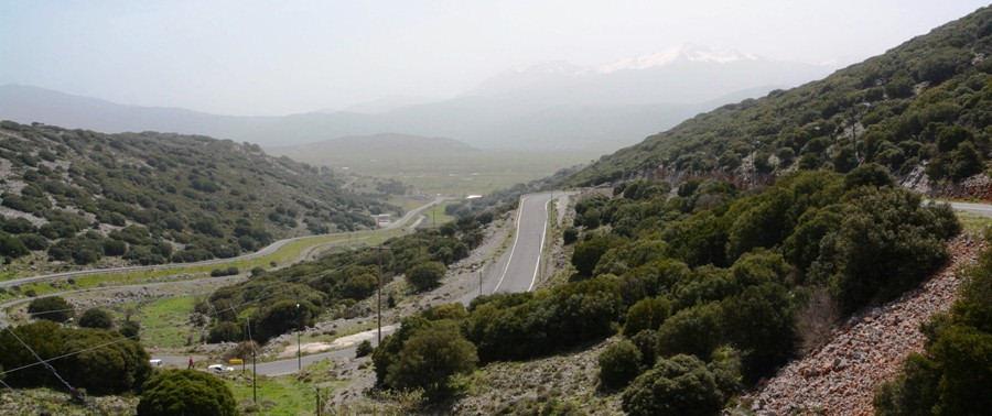 Entrance to Lasithi Plateau