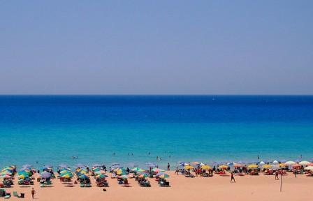 Falasarna Beach, (image by Shaggyshoo)